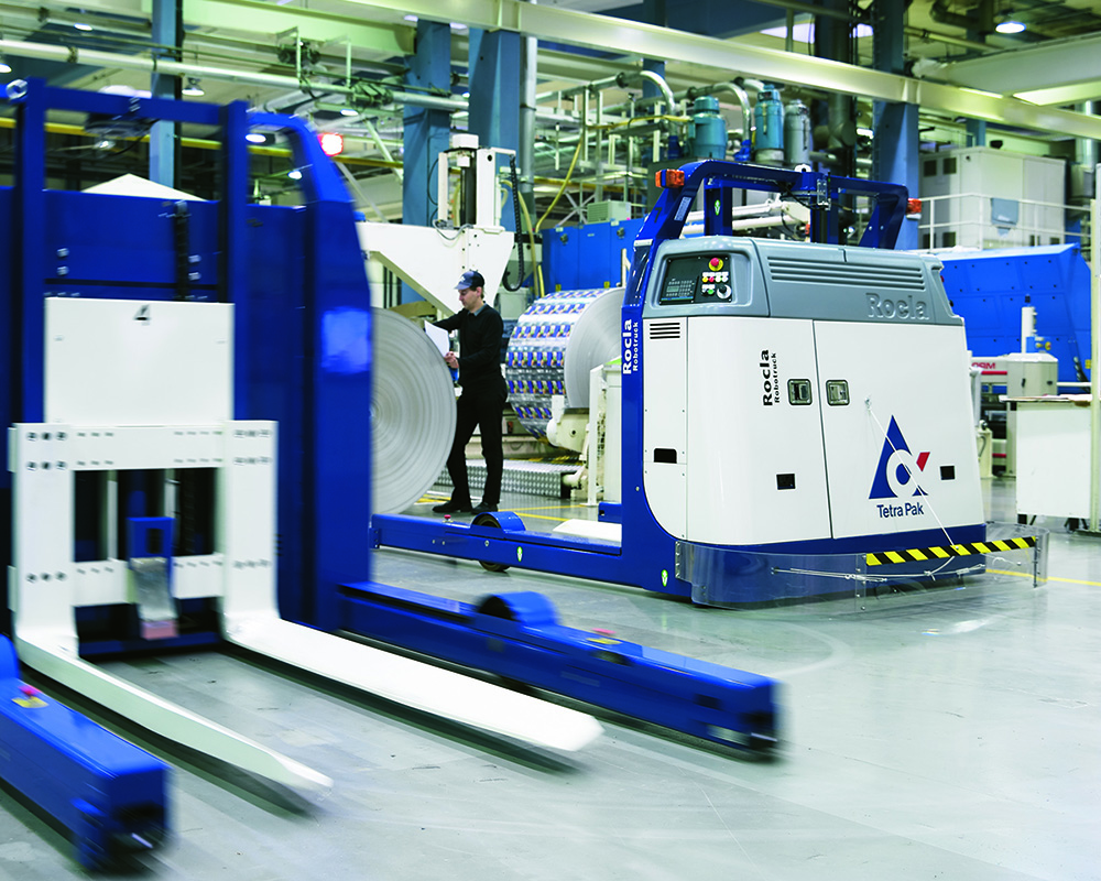 Updating the current AGV system is a cost-efficient way to ensure the automation system will run for the years to come