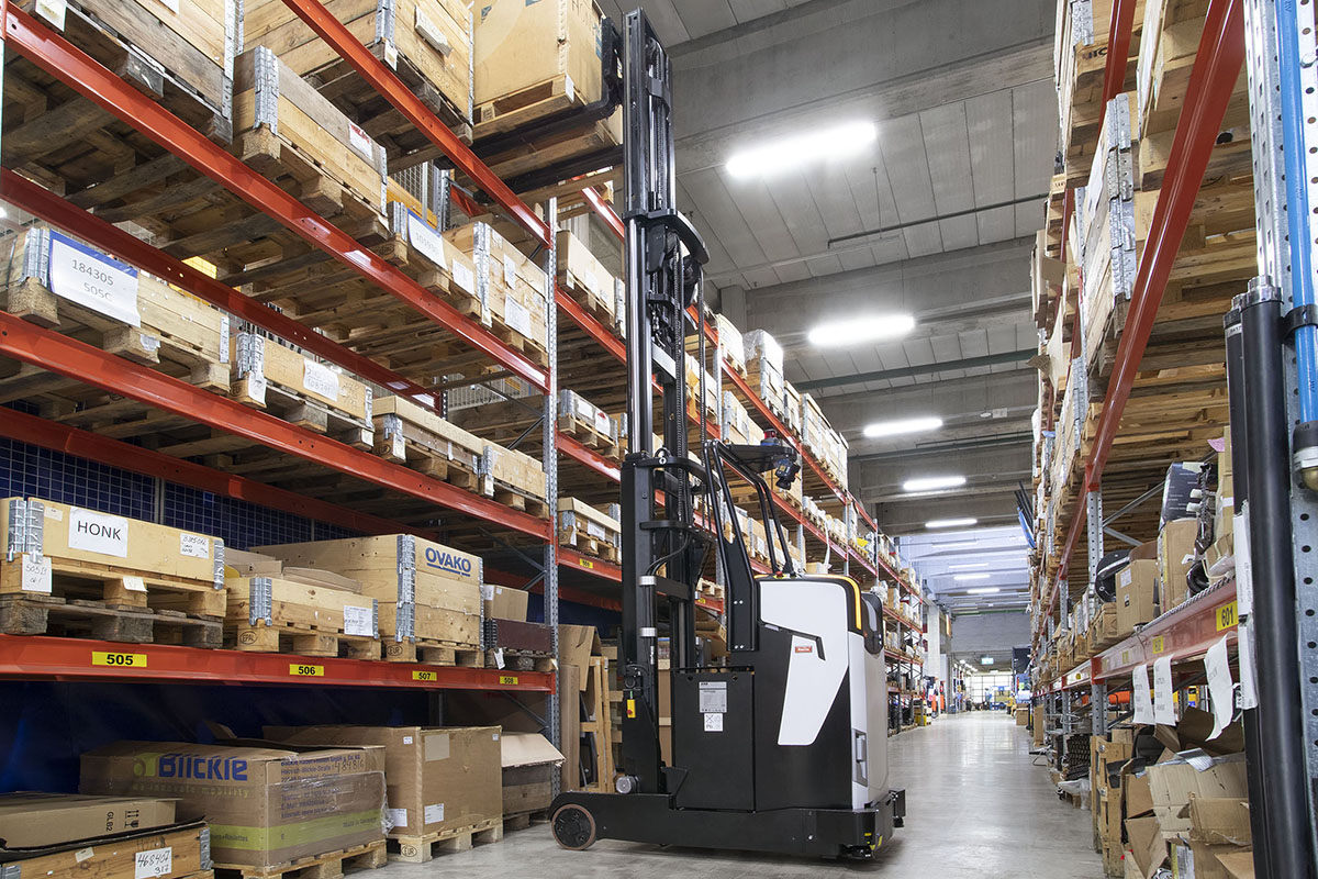 Rocla has introduced a new Reach mast AGV for automated pallet handling