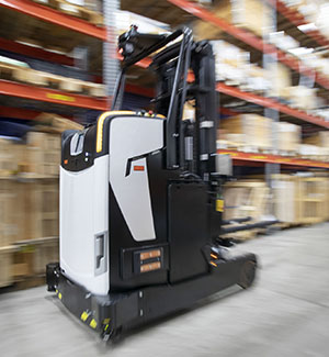 faster automated pallet handling