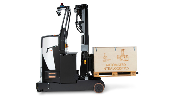 Rocla ART Automated Reach Truck for automated pallet handling